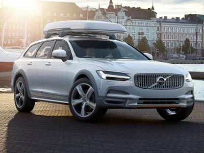 Volvo V90 Cross Country Ocean Race. Фото Volvo