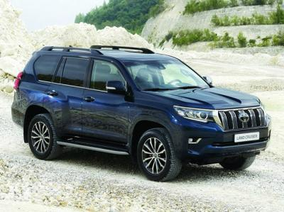 Toyota Land Cruiser Prado 2017. Фото Toyota
