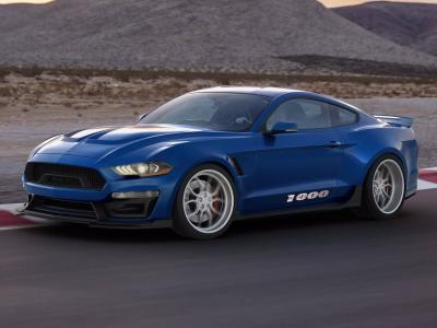 Ford Mustang Shelby 1000. Фото Shelby