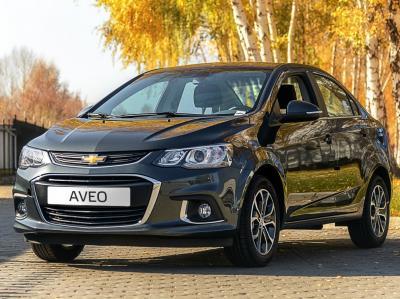 Chevrolet Aveo. Фото aziaavto.kz