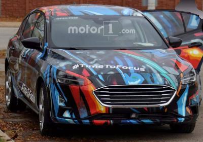 Ford Focus 2018. Фото motor1.com
