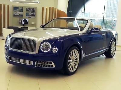 Bentley Grand Convertible. Фото Shmee150