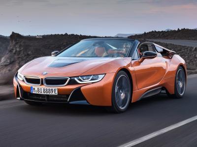 BMW i8 Roadster . Фото BMW