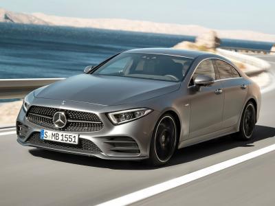 Mercedes-Benz CLS 2018. Фото Mercedes-Benz