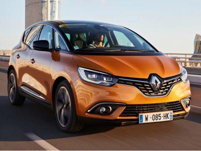 Renault Scenic. Фото Renault