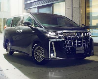 Toyota Alphard. Фото Toyota