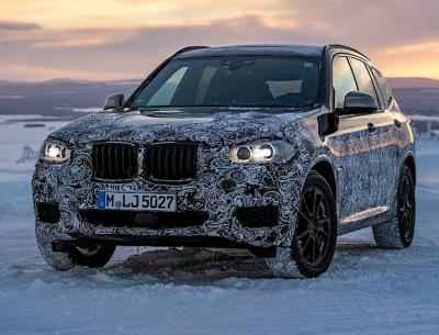 BMW X3 M.  Фото BMW Blog