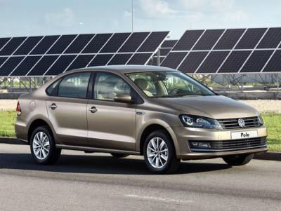 VW Polo Sedan. Фото VW