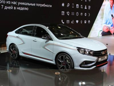 Lada Vesta Sport Concept. Фото CarExpert.ru
