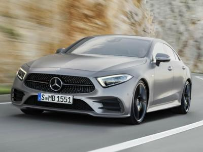 Mercedes-Benz CLS 2018. Фото MotorAuthority