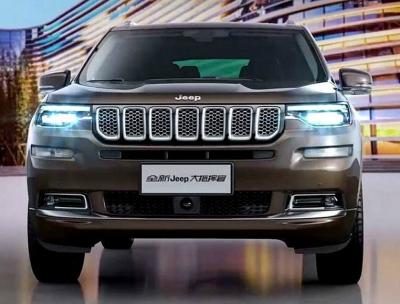 Jeep Grand Commander. Тизеры Jeep