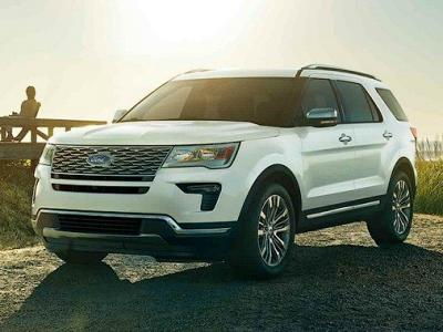 Ford Explorer. Фото Ford