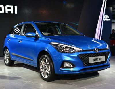 Hyundai i20. Фото Hyundai