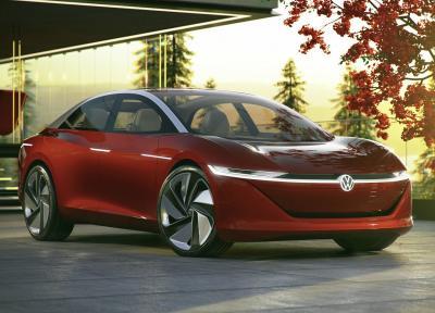 Volkswagen I.D. Vizzion. Фото VW