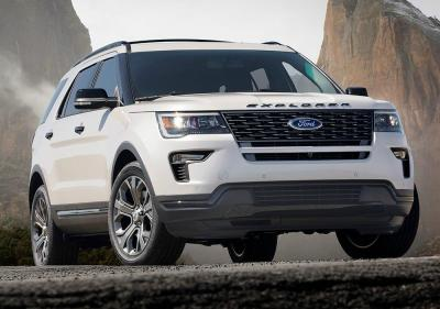 Ford Explorer 2018. Фото Ford