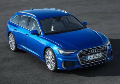 Audi A6 Avant. Фото Audi