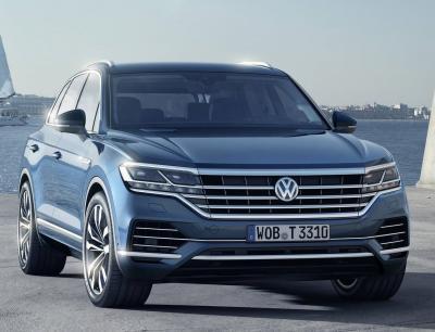 VW Touareg 2018. Фото VW