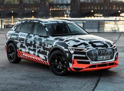 Audi e-tron. Фото Audi