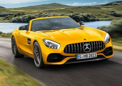 Mercedes-Benz AMG GT S Roadster. Фото Mercedes-Benz