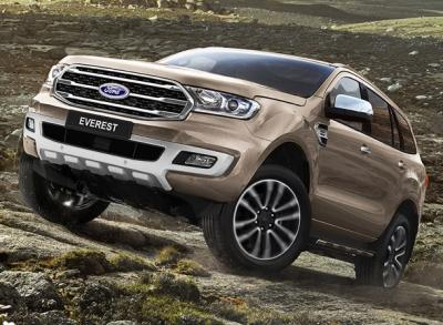 Ford Everest. Фото Ford
