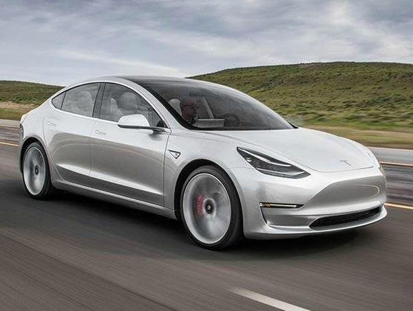 Tesla Model 3. Фото Tesla