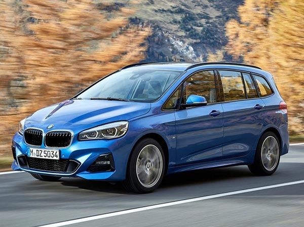 BMW 2-Series Gran Tourer 2018. Фото BMW
