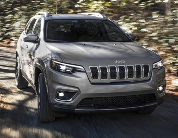 Jeep Cherokee 2018. Фото Jeep