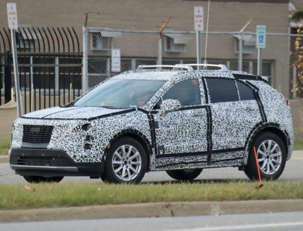 Cadillac XT4. Фото motor1.com