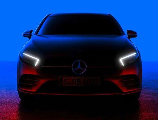 Тизер Mercedes-Benz
