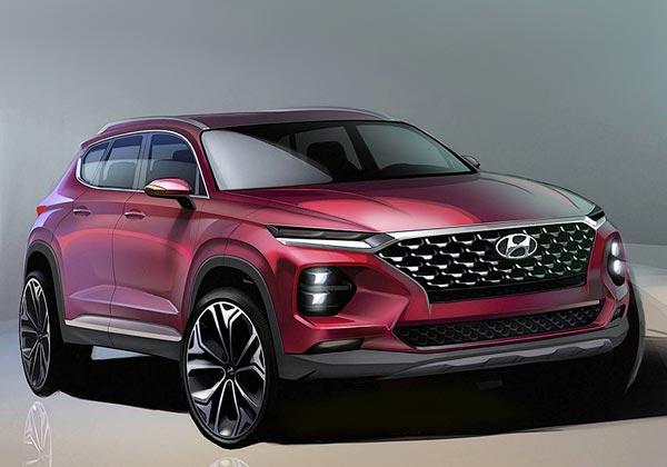 Hyundai Santa Fe. Тизер Hyundai