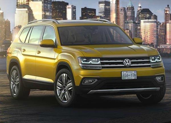 Volkswagen Atlas. Фото Volkswagen