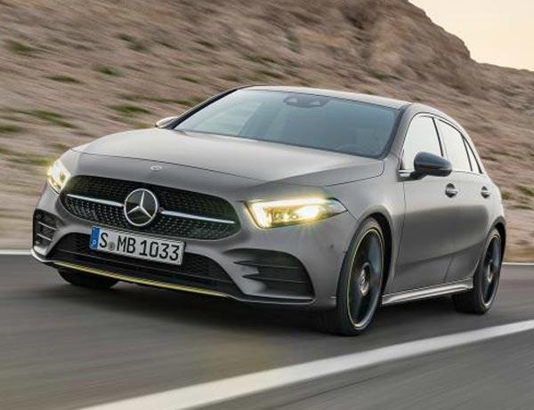 Mercedes-Benz A-Class 2018. Фото Mercedes-Benz