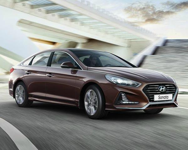 Hyundai Sonata. Фото Hyundai