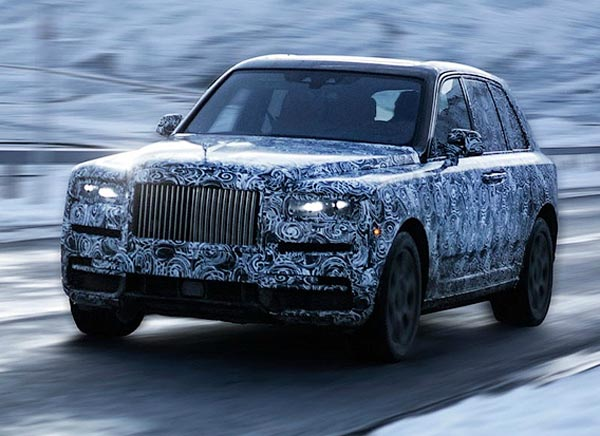 Rolls-Royce Cullinan. Фото Rolls-Royce