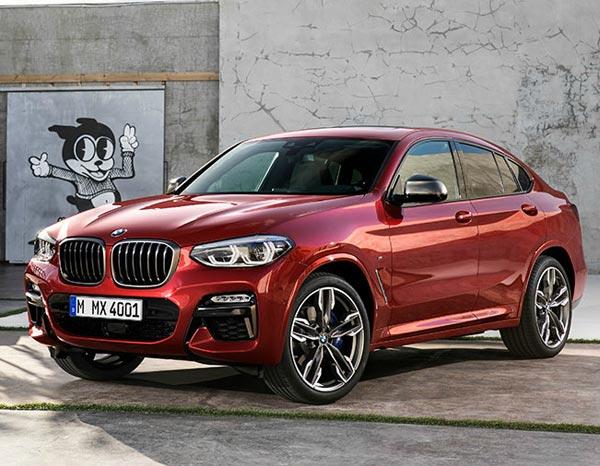 BMW X4 2018. Фото BMW