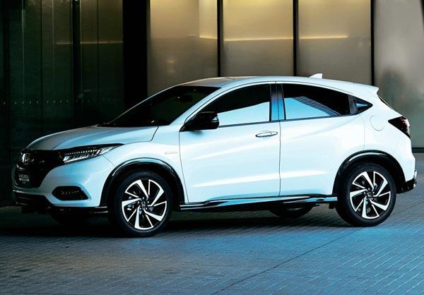 Honda Vezel. Фото Honda