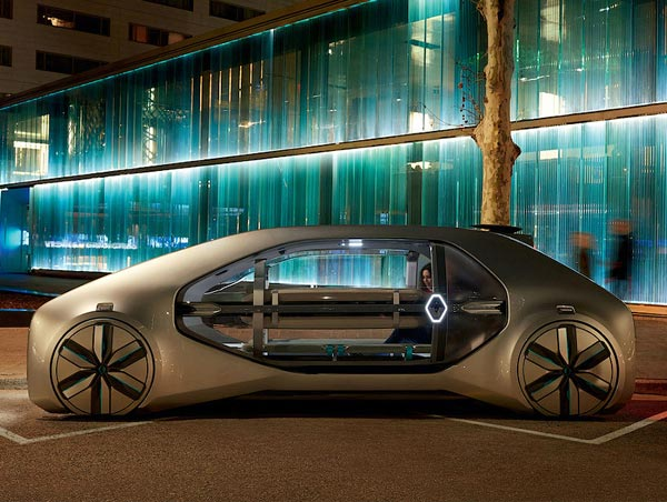 Renault EZ-GO. Фото Renault