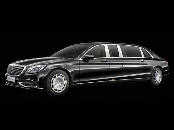 Mercedes-Maybach Pullman. Фото Mercedes