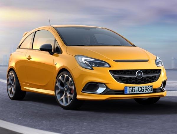 Opel  Corsa GSi. Фото Opel  Corsa