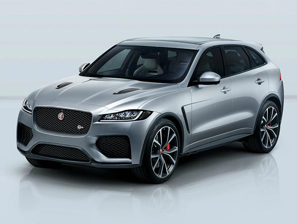Jaguar F-Pace SVR. Фото Jaguar