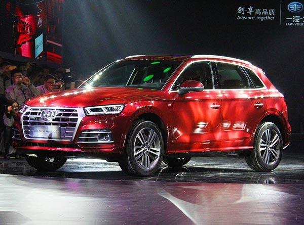 Audi Q5 L. Фото Audi