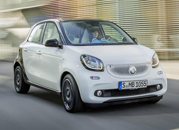 Smart ForFour. Фото Smart