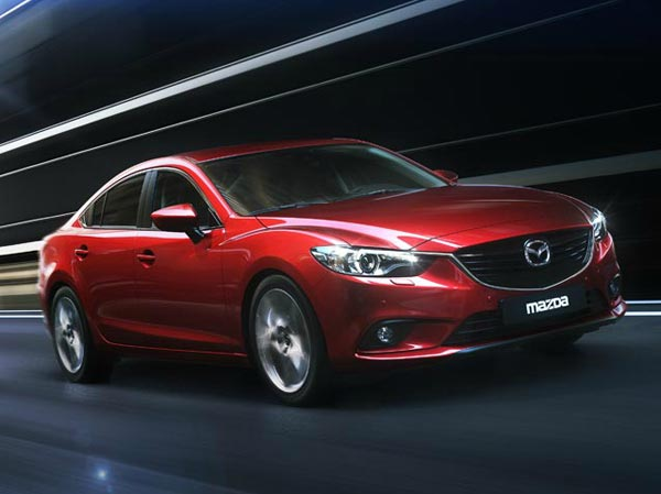 Mazda6 2012. Фото Mazda