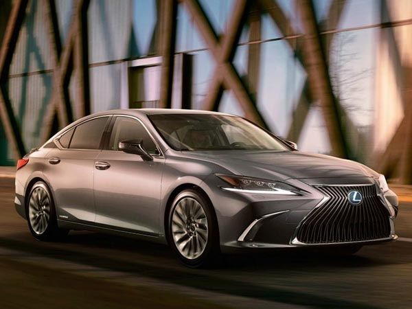 Lexus ES 2018. Фото Lexus