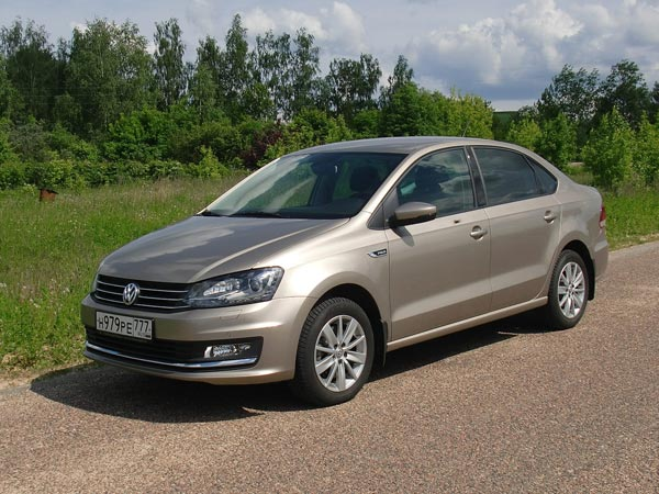 Volkswagen Polo Sedan. Фото CarExpert.ru