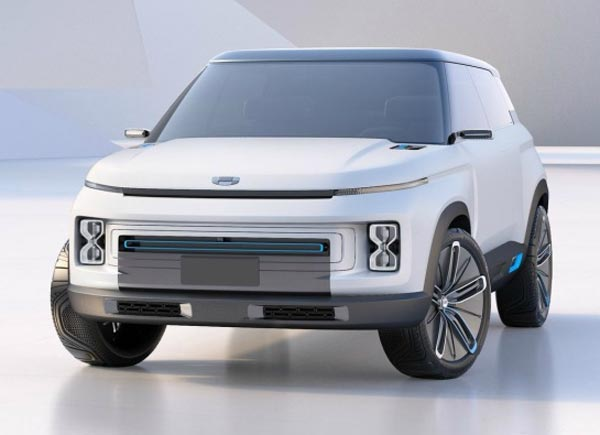 Geely Concept Icon. Фото Geely