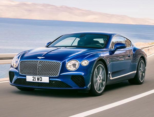 Bentley Continental GT Speed 2017. Фото Bentley
