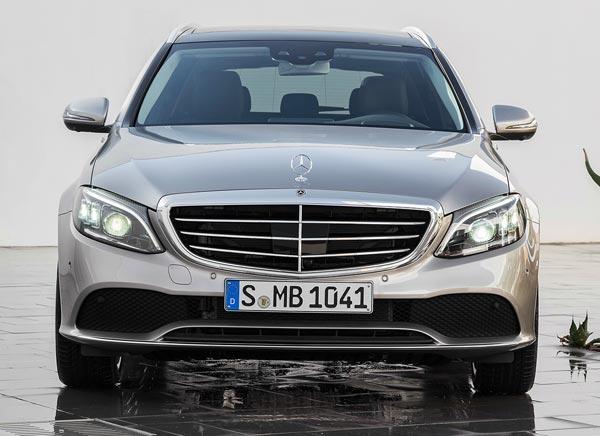 Mercedes-Benz C-Class 2018. Фото Mercedes-Benz