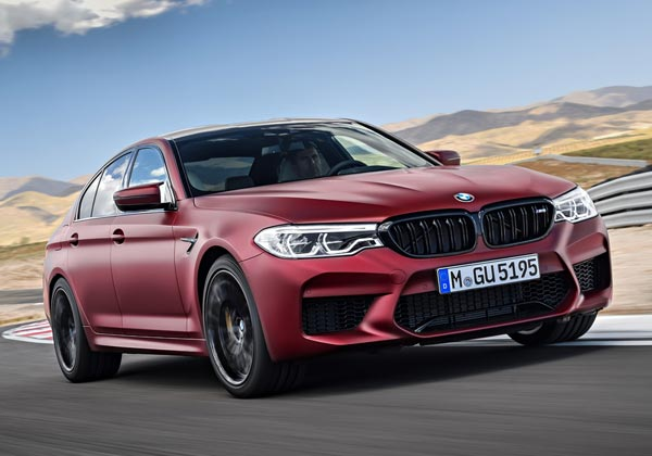 BMW M5 Competition. Фото BMW