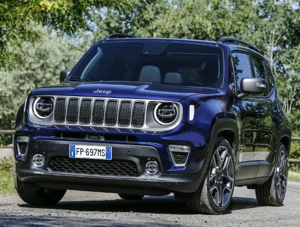 Jeep Renegade 2018. Фото Jeep